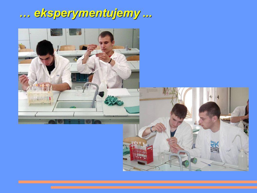 … eksperymentujemy...