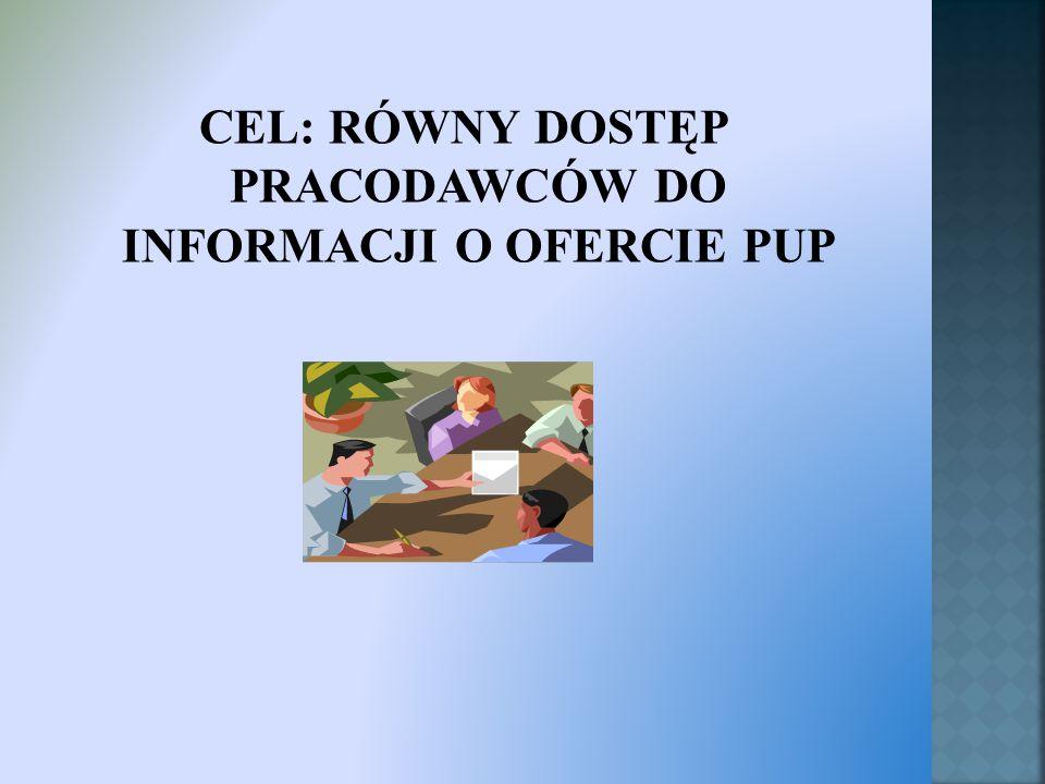  Terytorialno – przestrzenne - wizyty pośredników pracy u pracodawców z każdej gminy Powiatu Cieszyńskiego.