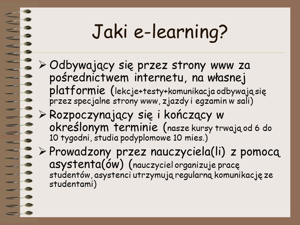 Jaki e-learning.