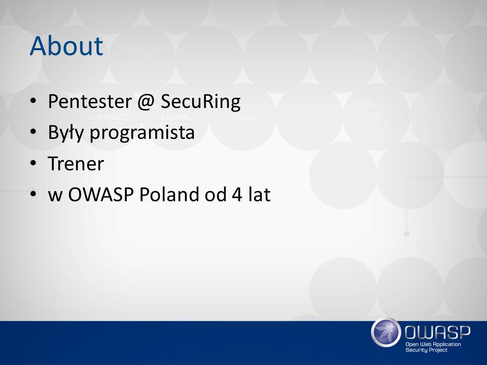 Agenda Co to OWASP? Co ma dla mnie (dla Was) ciekawego? Narzędzia Q&A