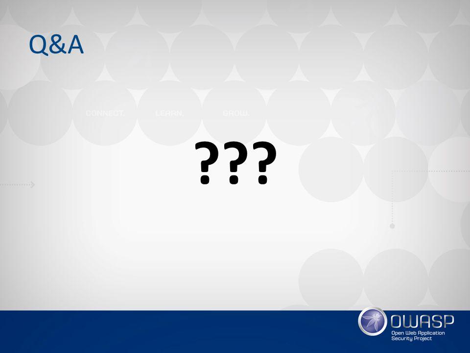 Q&A ???