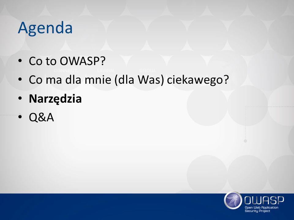 OWASP AppSensor Framework pozwalający na wbudowanie w aplikację mechanizmów wykrywania i obsługi incydentów Status: .
