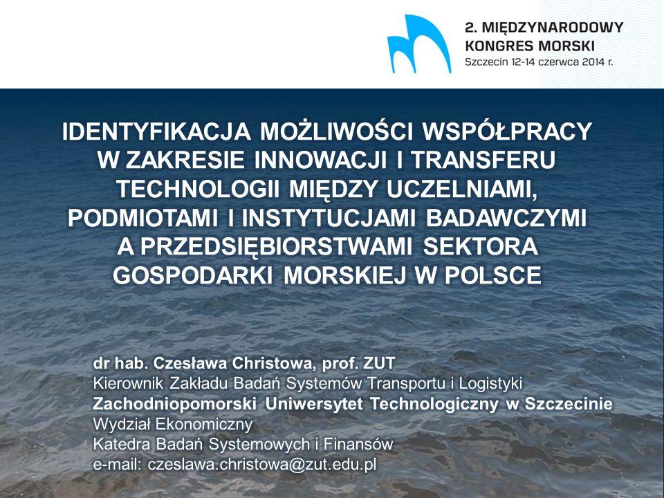 Autorka: dr hab.Czesława Christowa, prof. ZUT W styczniu 2014 r.