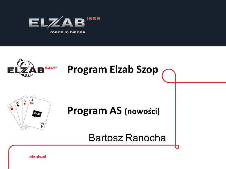 Program Elzab Szop Program Elzab Szop przeznaczony jest do zarządzanie sprzedażą detaliczną w oparciu o drukarkę fiskalną firmy Elzab.