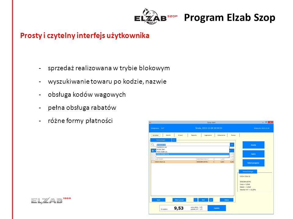 Cennik - import bazy towarowej możliwy z pliku towary.txt (format zgodny z WinECRSerw – kasy fiskalne ELZAB) - grupowe operacje na towarach (modyfikacja cen, jednostek, stawek VAT) - możliwość wyłączenia indywidualnego towaru z rabatowania - wiązanie towaru np.