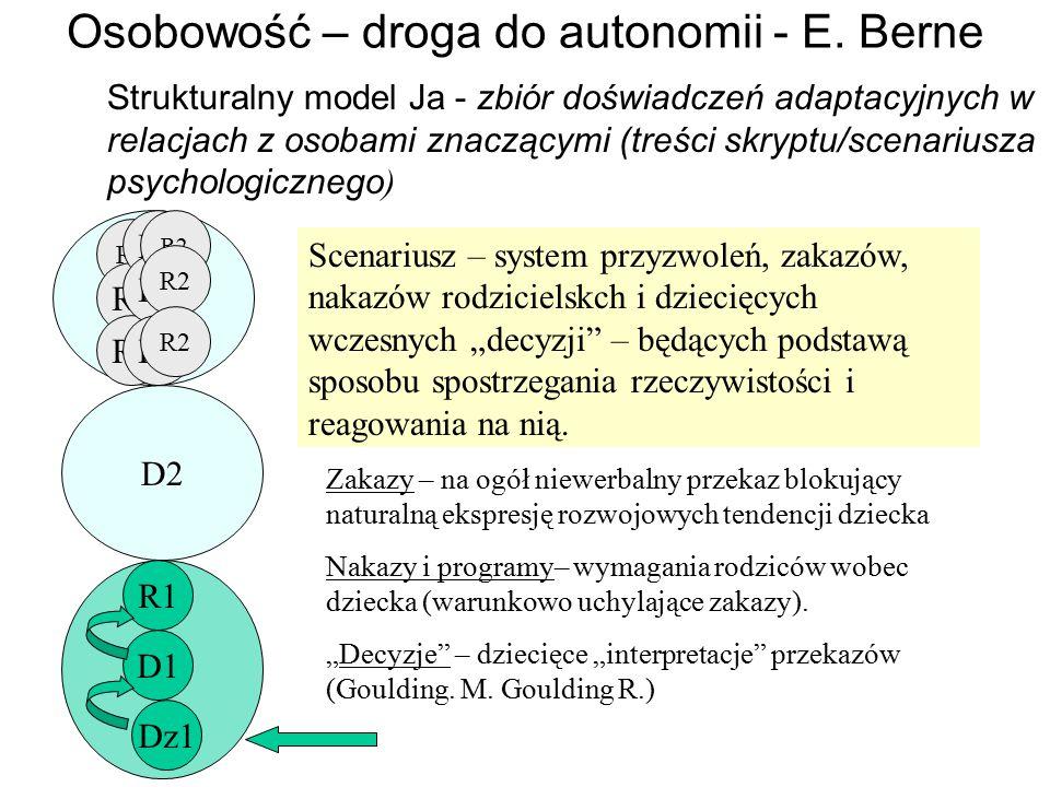 Osobowość – droga do autonomii - E.