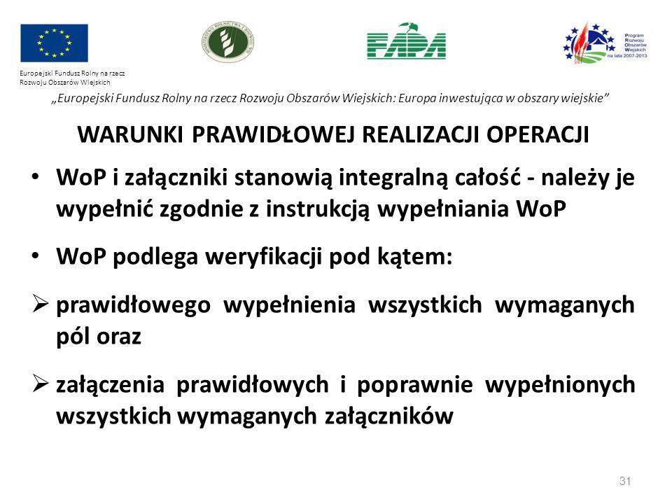 """31 Europejski Fundusz Rolny na rzecz Rozwoju Obszarów Wiejskich """"Europejski Fundusz Rolny na rzecz Rozwoju Obszarów Wiejskich: Europa inwestująca w ob"""