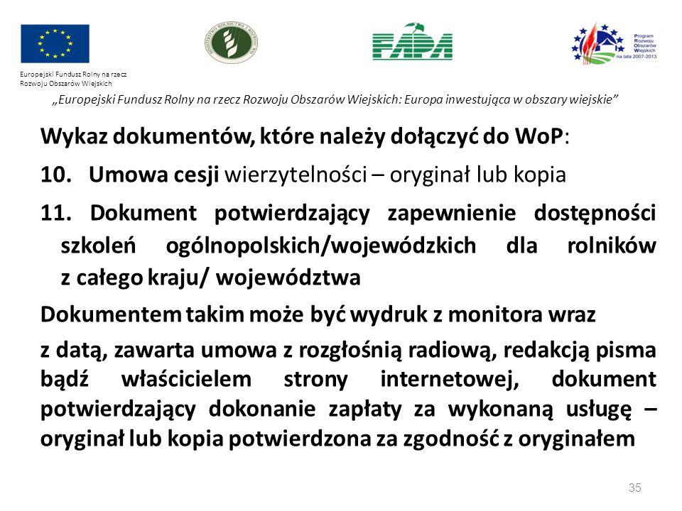 """35 Europejski Fundusz Rolny na rzecz Rozwoju Obszarów Wiejskich """"Europejski Fundusz Rolny na rzecz Rozwoju Obszarów Wiejskich: Europa inwestująca w ob"""