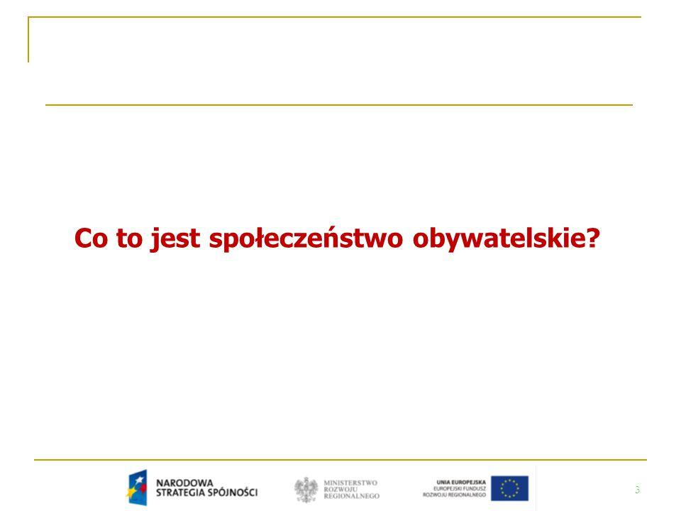 24 Jaki jest stan społeczeństwa obywatelskiego w Polsce?