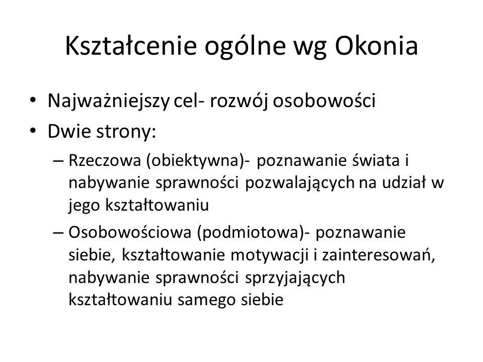 Taksonomia Niemierki (ABC) (cele wychowania) PoziomKategoria I.