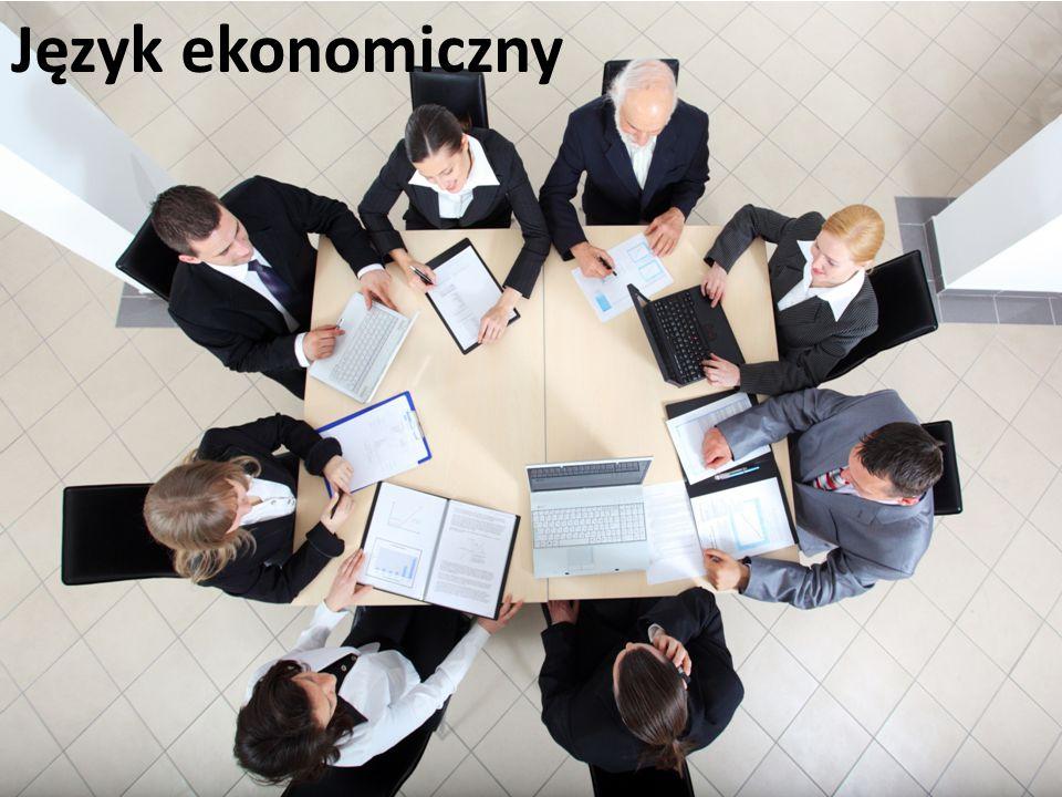 Język ekonomiczny