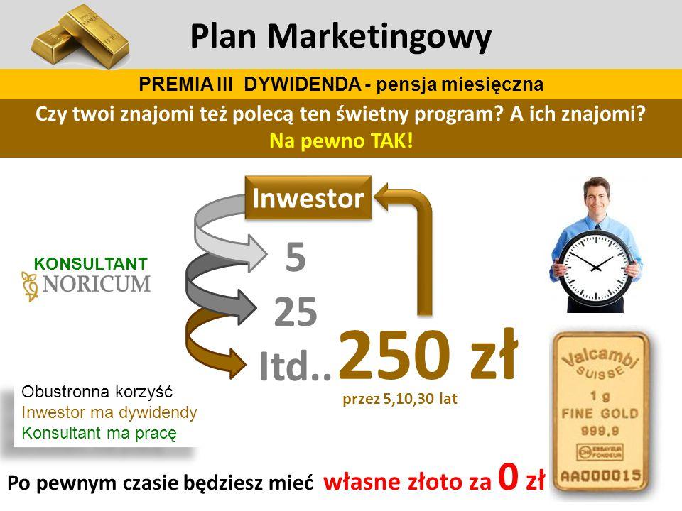 5 25 Itd.. 250 zł Plan Marketingowy Czy twoi znajomi też polecą ten świetny program? A ich znajomi? Na pewno TAK! Po pewnym czasie będziesz mieć własn