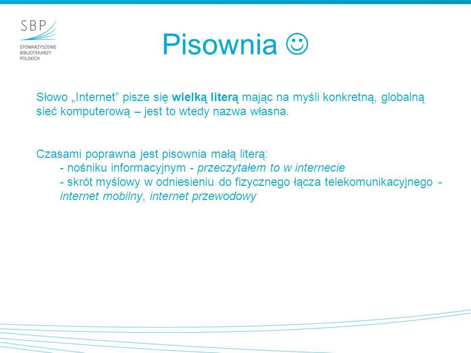 Internet - definicja ogólnoświatowa sieć komputerowa, Internet to przestrzeń adresów IP przydzielonych hostom i serwerom połączonym za pomocą urządzeń sieciowych, komunikujących się za pomocą protokołu internetowego z wykorzystaniem infrastruktury telekomunikacyjnej.