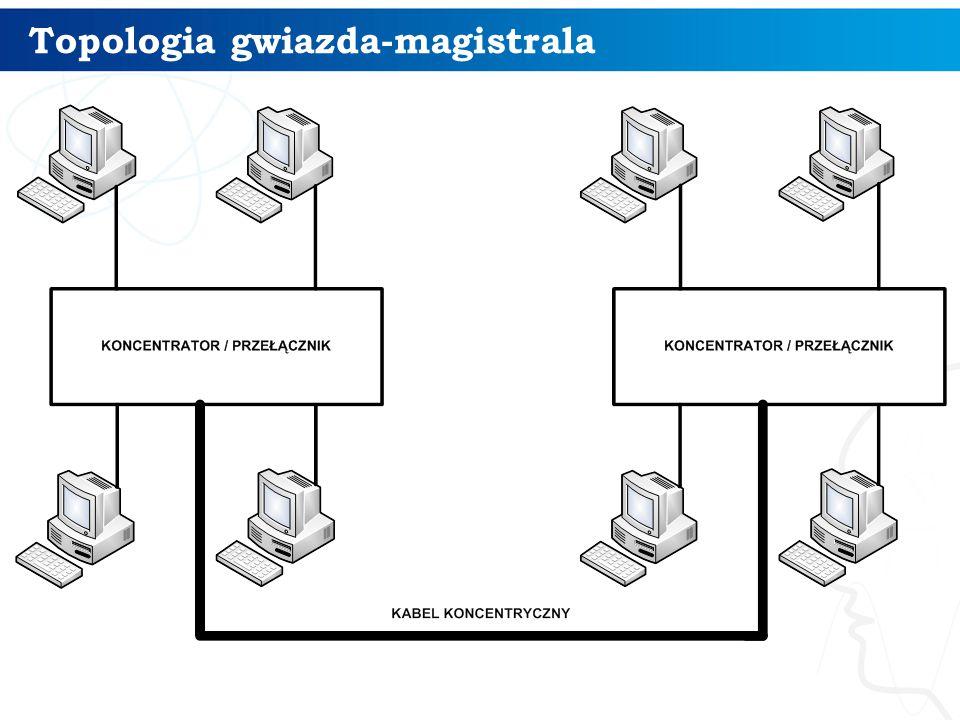 Topologia gwiazda-magistrala