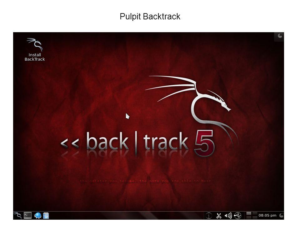 Pulpit Backtrack