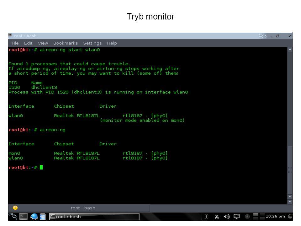 Tryb monitor