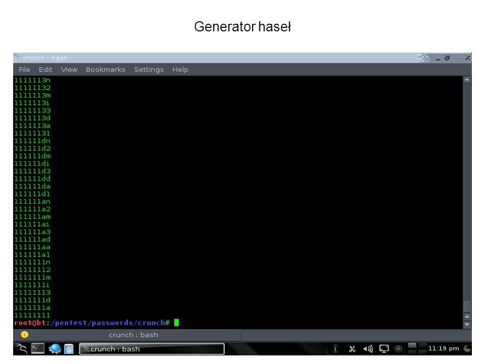 Generator haseł
