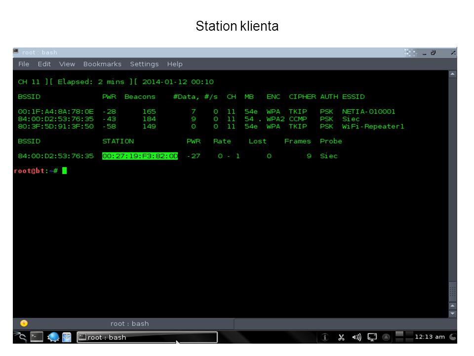 Station klienta