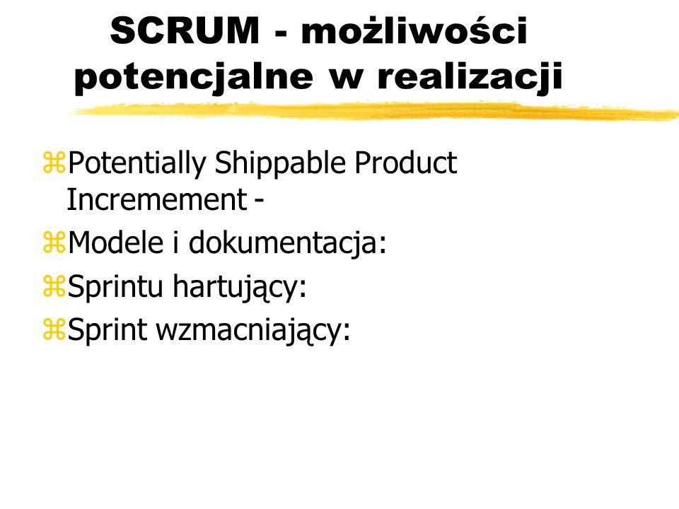SCRUM - Task Board zTablice zadań dla sprintu: Story, To do, In Process, To Verify, Done