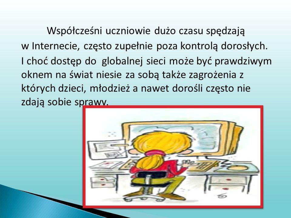  Dorośli powinni zrozumieć, że dzięki Internetowi dzieci mogą nawiązywać nowe przyjaźnie  Jednakże spotkanie z nieznajomymi poznanymi w Sieci może okazać się bardzo niebezpieczne  Dzieci musza mieć świadomość, że mogą spotkać się z nieznajomymi wyłącznie po uzyskanej zgodzie rodziców i zawsze w towarzystwie dorosłych lub przyjaciół