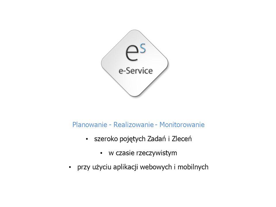 Dwutorowe wsparcie Dostawcy Usług przyjmowanie Zleceń w czasie rzeczywistym oraz prowadzenie komunikacji online z Właścicielami Majątku i pracującymi w terenie Pracownikami Właściciele Majątku zlecanie dowolnych Zadań w czasie rzeczywistym oraz bieżący wgląd w ich realizację dzięki dostępowi do dedykowanej aplikacji webowej lub/i mobilnej