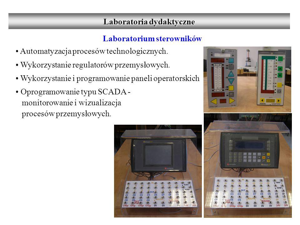 Laboratorium sterowników Automatyzacja procesów technologicznych.