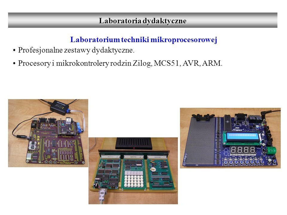 Laboratorium techniki mikroprocesorowej Programowanie układów mikroprocesorowych oraz mikrokontrolerów na poziomie języka maszynowego i C przy użyciu środowisk programistycznych będących wyznacznikami światowych standardów.
