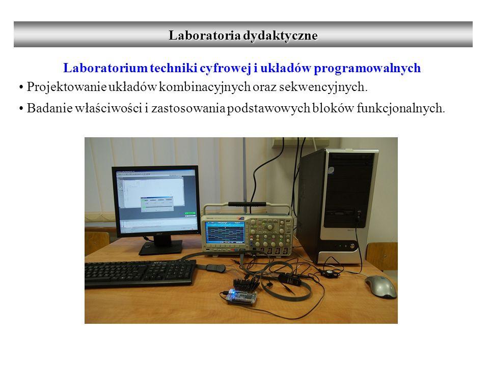 Laboratorium techniki cyfrowej i układów programowalnych Projektowanie układów kombinacyjnych oraz sekwencyjnych.