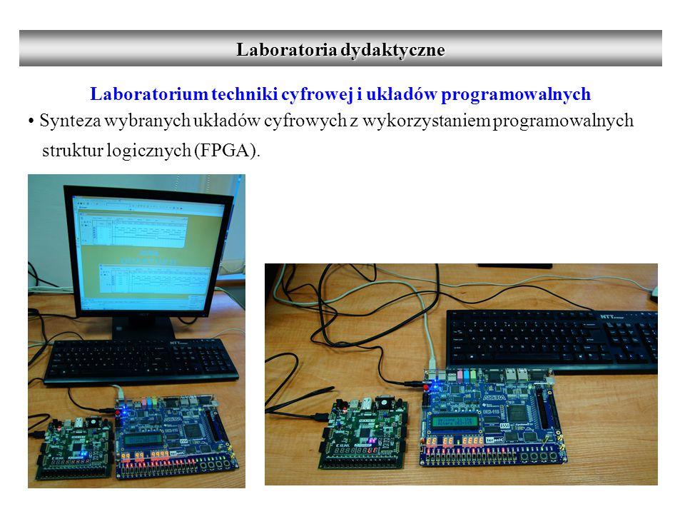 Laboratorium techniki cyfrowej i układów programowalnych Synteza wybranych układów cyfrowych z wykorzystaniem programowalnych struktur logicznych (FPGA).