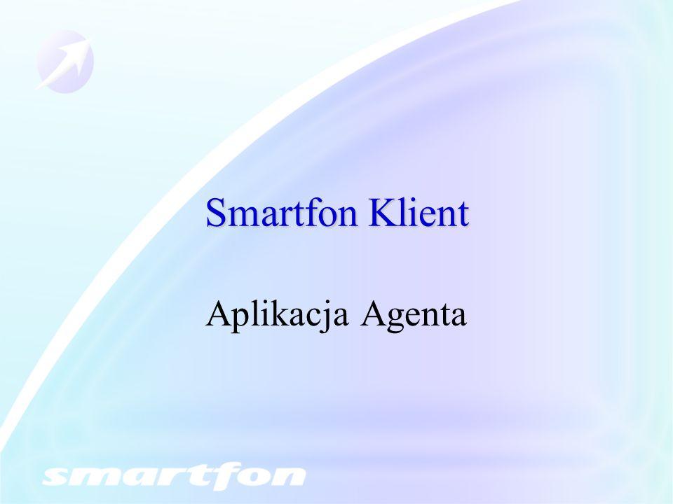 Smartfon Klient Aplikacja Agenta