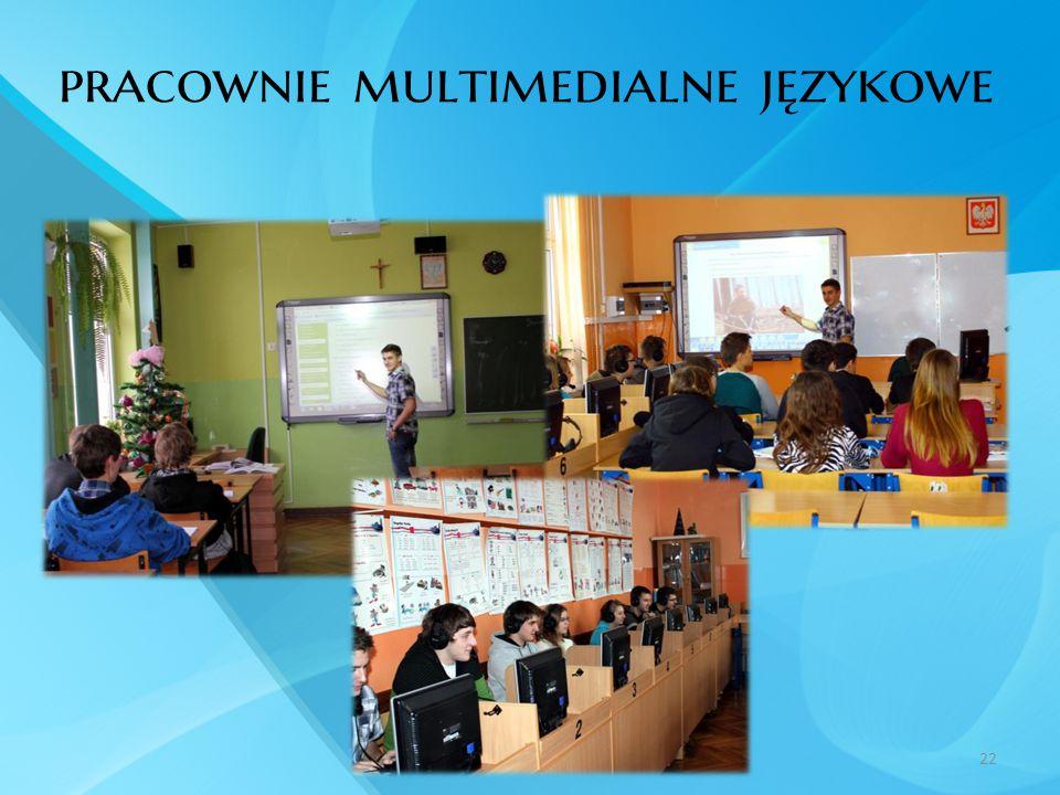 pracownie multimedialne językowe 22