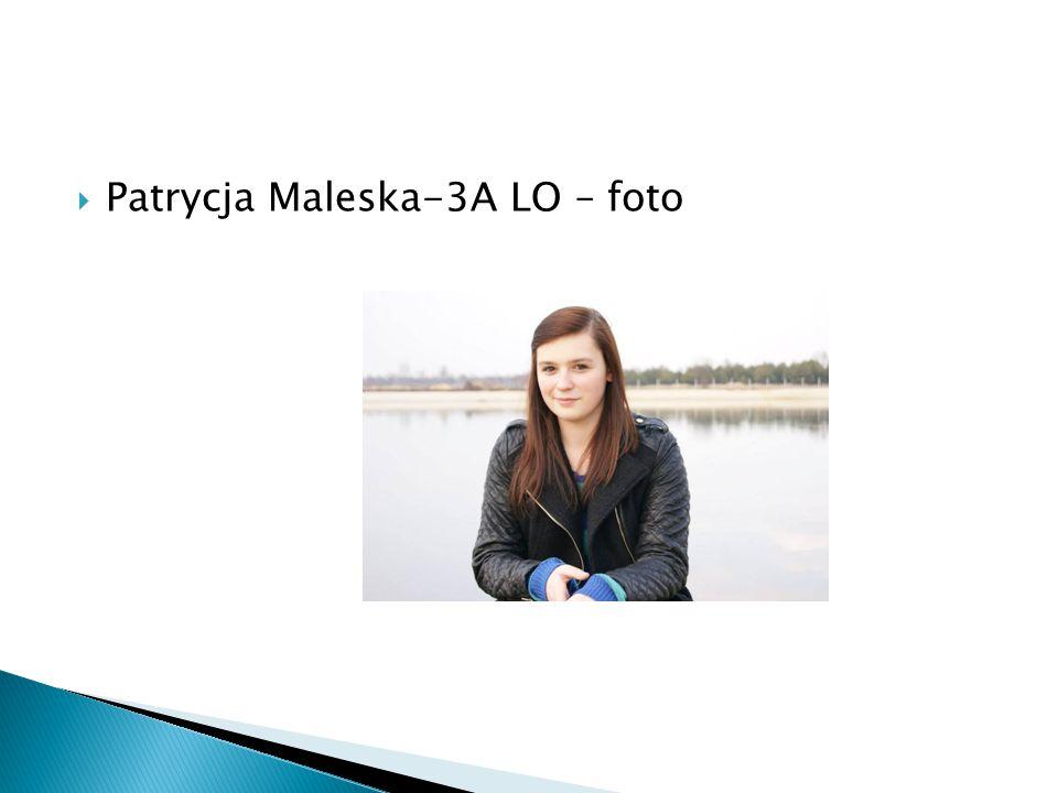 PPatrycja Maleska-3A LO – foto