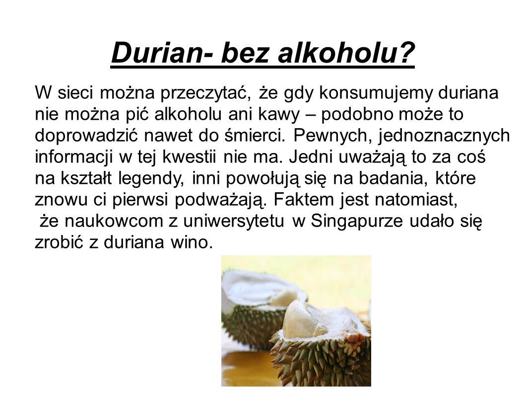Matematyka z Durianem Durian osiąga od 700mm do 3000mm.