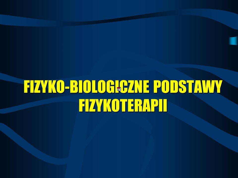 RODZAJE REAKCJI WYWOŁANYCH DZIAŁANIEM ENERGII 1.Miejscowe 2.Odległe 3.Uogólnione MIEJSCE 1.Natychmiastowe 2.Późne CZAS 1.Fizykochemiczne 2.Chemiczne 3.Biologiczne MECHANIZMY Adaptacyjne (czynne), kompensacyjne, ochronne, alarmowe CHARAKTER REAKCJI