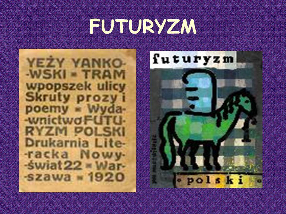 Słowa te pochodzące z Manifestu futurystycznego ogłoszonego w 1909 roku przez włoskiego poetę Filippo Tommaso Marinettiego, zainicjowały powstanie nowego burzycielskiego ruchu artystycznego zwanego futuryzmem.