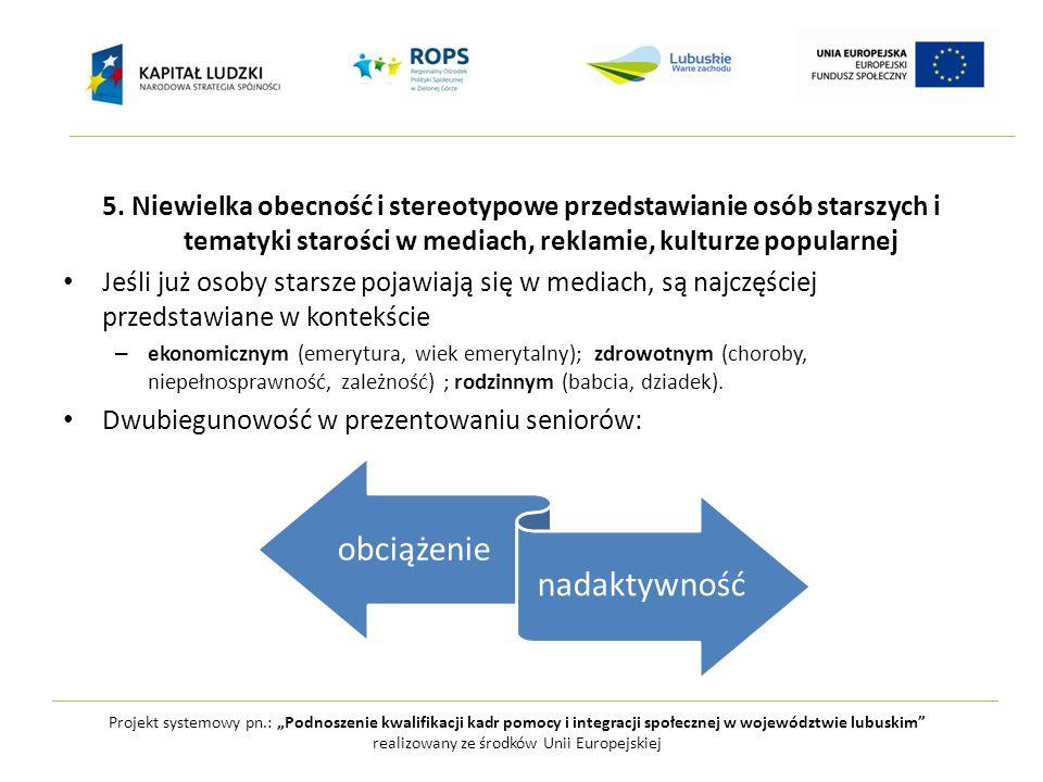 """Projekt systemowy pn.: """"Podnoszenie kwalifikacji kadr pomocy i integracji społecznej w województwie lubuskim realizowany ze środków Unii Europejskiej 6."""