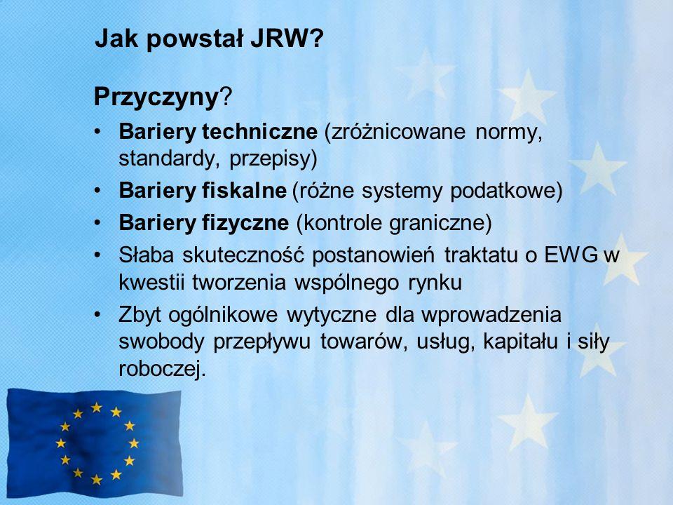 Jak powstał JRW.Przyczyny.