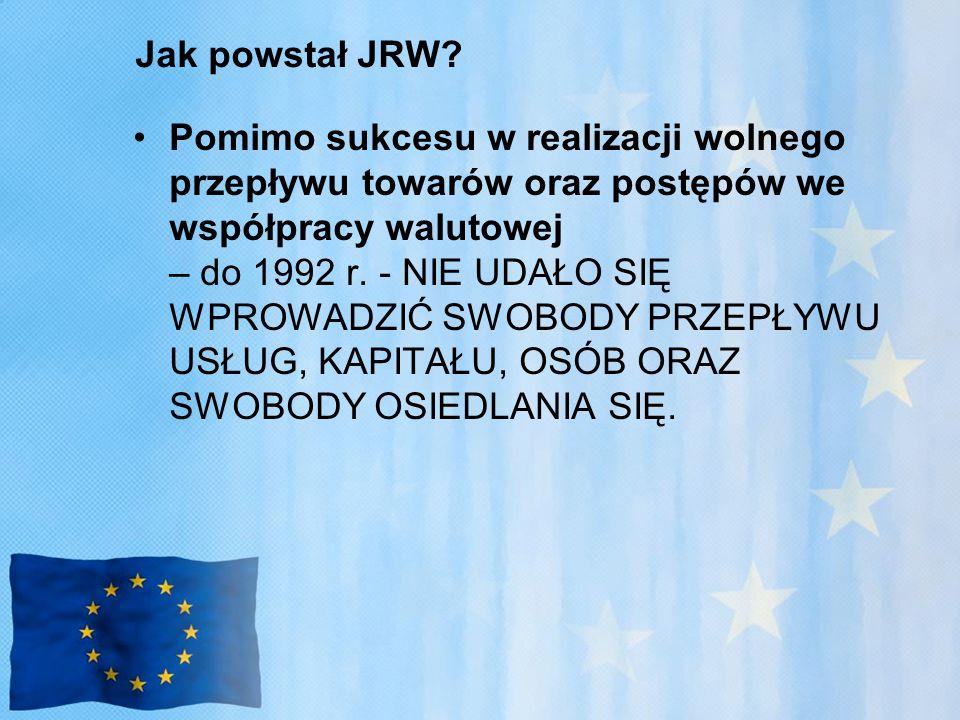 Jak powstał JRW.