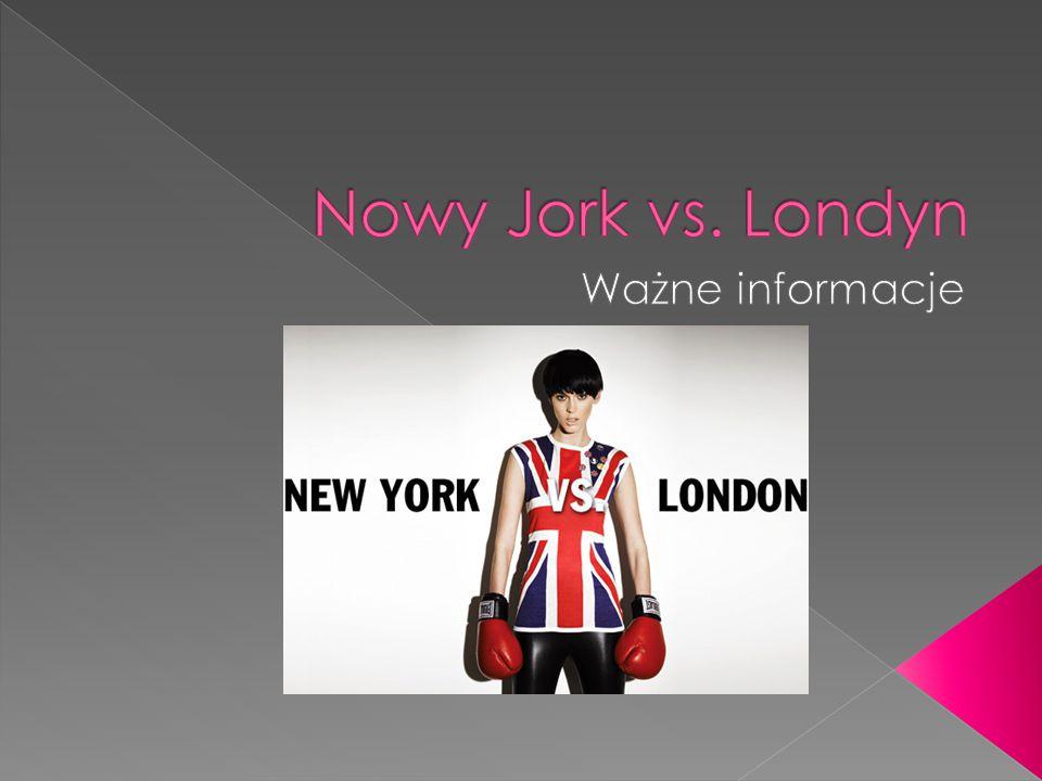 Ceny usług w Nowym Jorku są wyższe niż w Londynie.