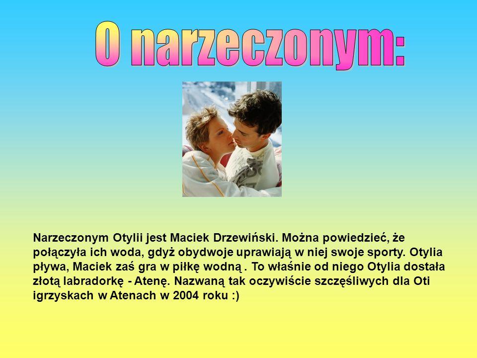 Narzeczonym Otylii jest Maciek Drzewiński.
