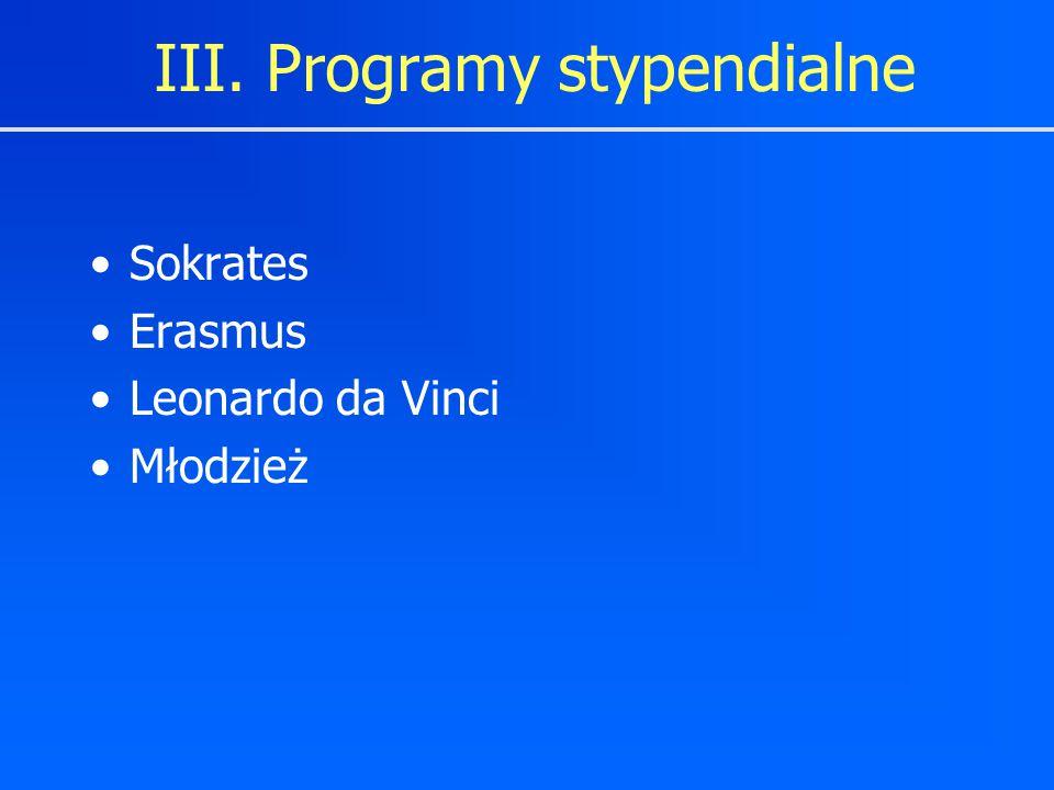 Sokrates Erasmus Leonardo da Vinci Młodzież