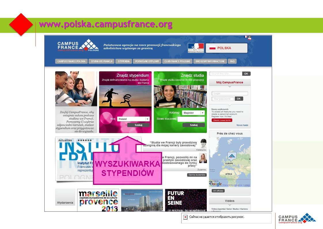 Agence française pour la promotion de l'enseignement supérieur, l'accueil et la mobilité internationale Katalog stypendiów: 600 programów stypendialnych Campus France Polska
