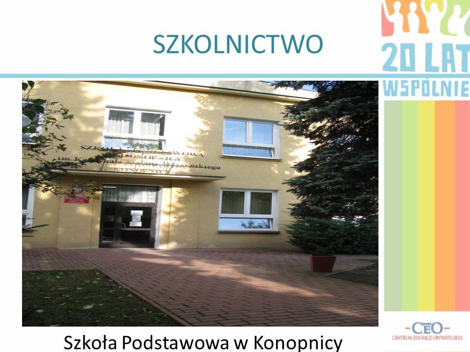SZKOLNICTWO Szkoła Podstawowa w Zemborzycach