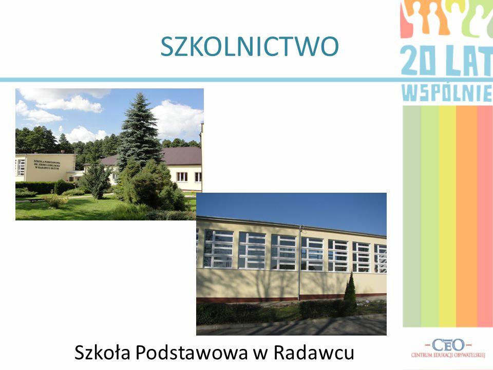 SZKOLNICTWO Szkoła Podstawowa w Stasinie