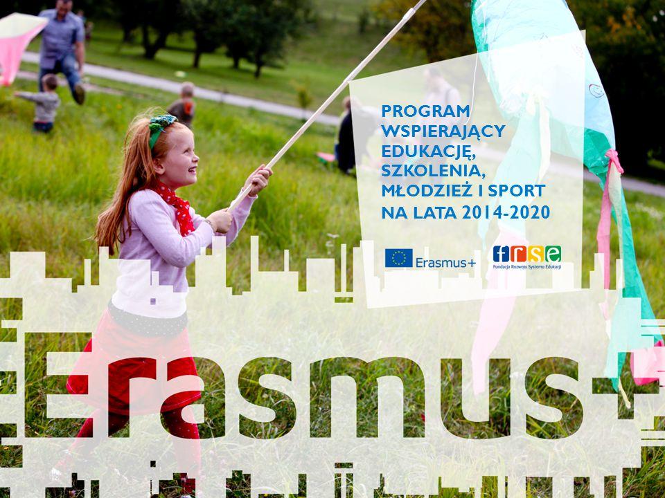 2007-2013 Jean Monnet Tempus Młodzież w działaniu Erasmus Mundus, Alfa, Edulink + Uczenie się przez całe życie Comenius Leonardo Erasmus Grundtvig (European Langues Label, różne projekty o tematyce językowej) Erasmus+ 2014-2020