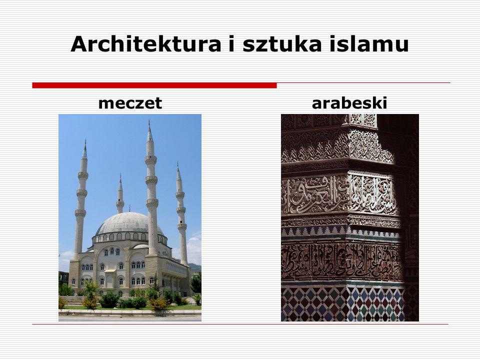 Architektura i sztuka islamu meczetarabeski