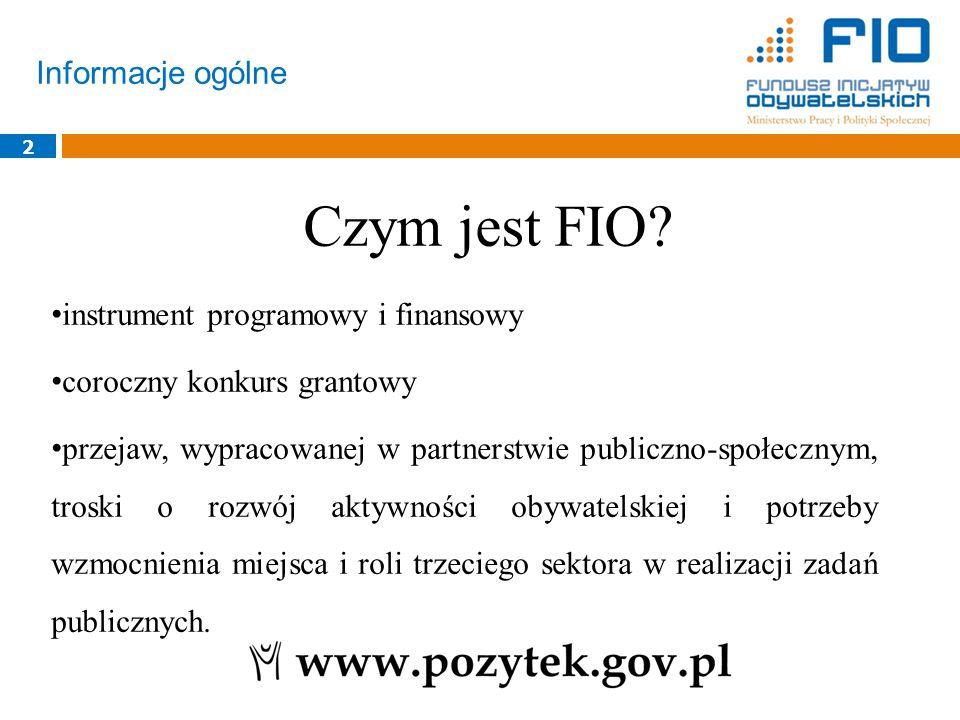 Informacje ogólne 2 instrument programowy i finansowy coroczny konkurs grantowy przejaw, wypracowanej w partnerstwie publiczno-społecznym, troski o ro