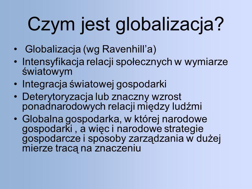 Czym jest globalizacja.
