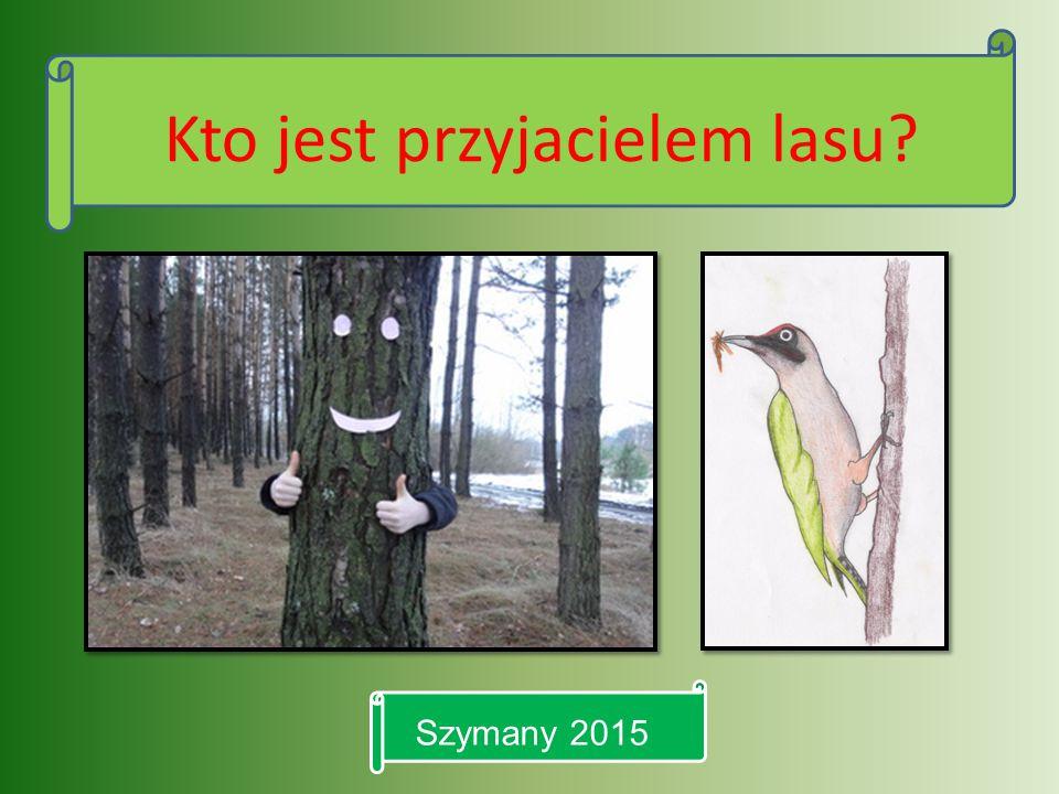 Kto jest przyjacielem lasu? Szymany 2015