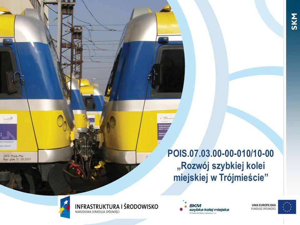 """POIS.07.03.00-00-010/10-00 """"Rozwój szybkiej kolei miejskiej w Trójmieście"""